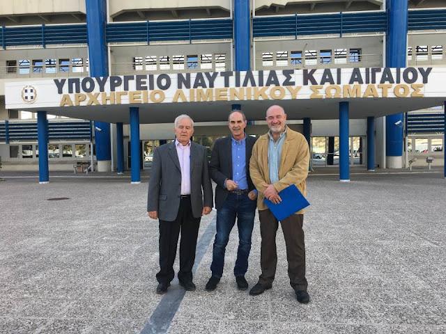 Στο Υπουργείο Εμπορικής Ναυτιλίας για τρέχοντα ζητήματα ο Δήμαρχος Ερμιονίδας