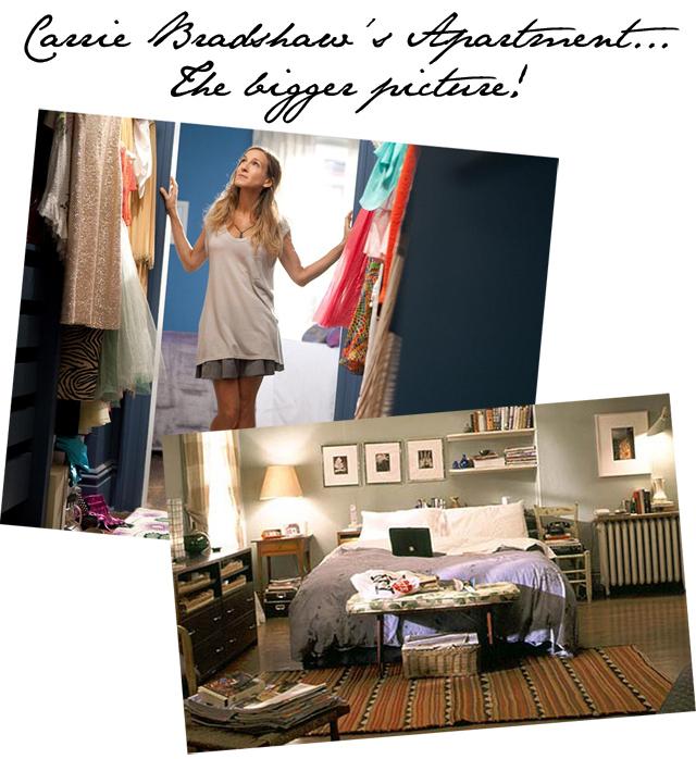 Carrie Bradshaw closet