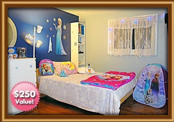 model tempat tidur frozen 2