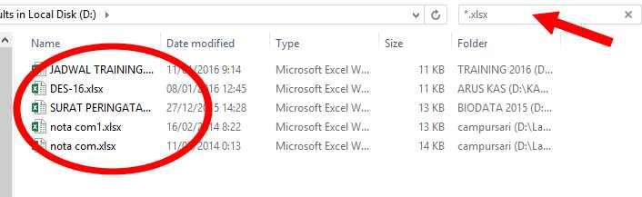 Cara Mudah Cari File Format Tertentu Di Windows Detik Info