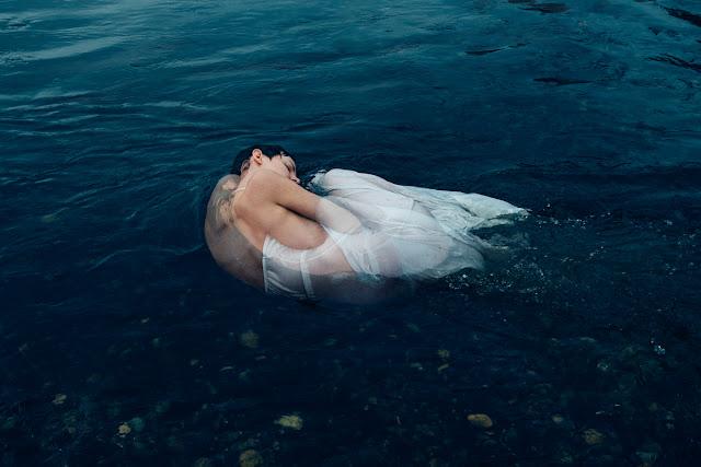 Self Portrait River Underwater