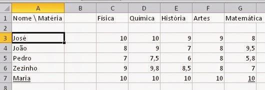 Como colocar uma linha em branco no Excel