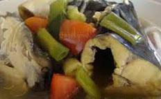 Resep praktis (mudah) sup ikan patin spesial (istimewa) enak, segar, sedap, gurih, nikmat lezat