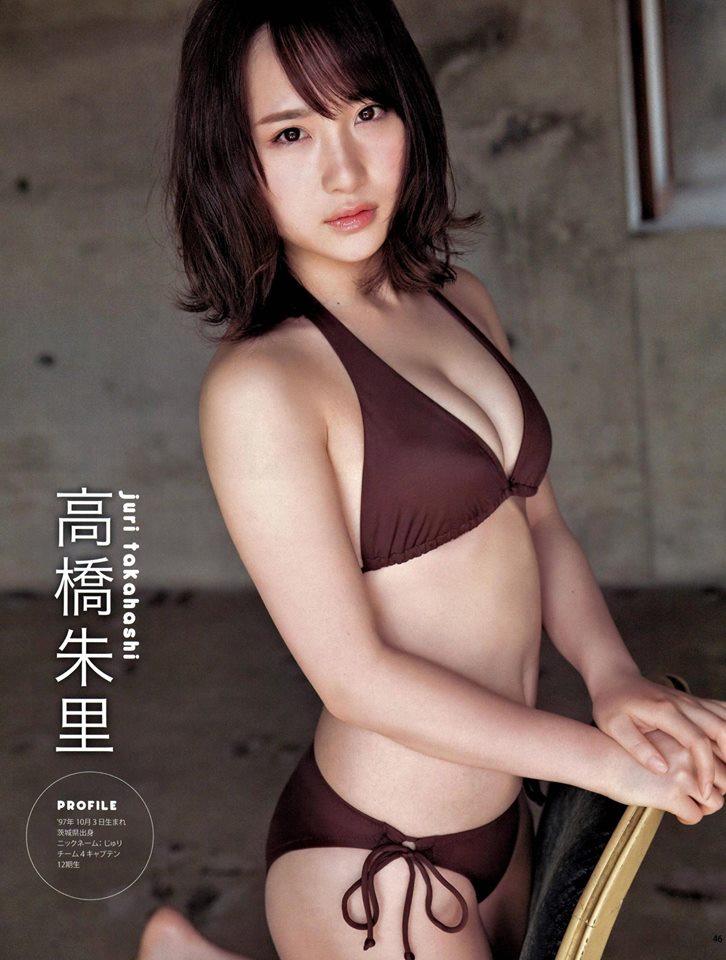 Takahashi Juri 高橋朱里, Kawamoto Saya 川本紗矢 AKB48, BOMB! 2017.06 (ボム 2017年06月号)