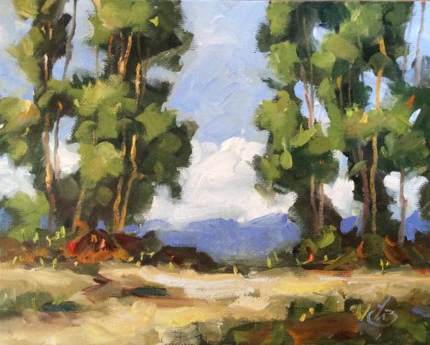 Tom Brown Fine Art Plein Air Landscape