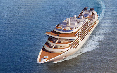 Artists Rendering of the Seabourn Ovation - Seabourn Cruises