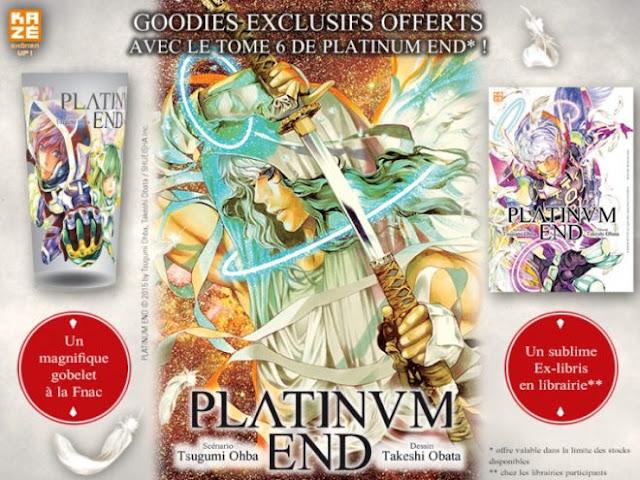 Kazé Manga, Platinum End, Manga, Actu Manga, Takeshi Obata, Tsugumi Ohba, FNAC,