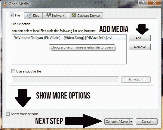 How to Convert Video with VLC Media Player