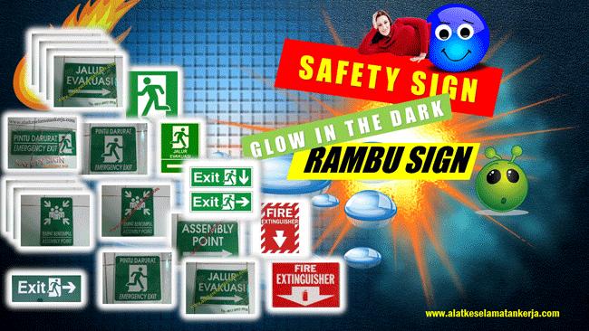 Tanda Rambu Safety Sign Keselamatan Kerja