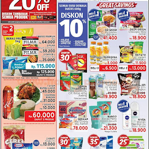 Katalog Promo Lottemart Hypermarket Weekend 22 - 25 Maret 2018