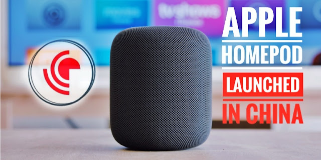 apple homepod launched in china