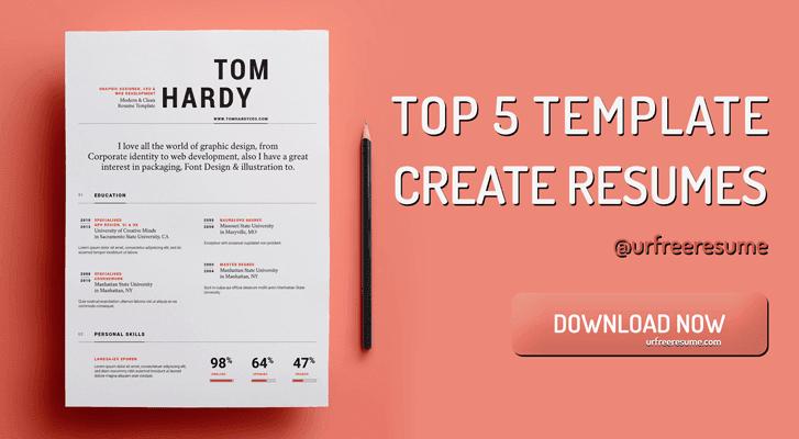 100 Create Free Resume Free Resume Templates Spry 275 Free