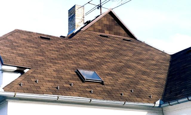 крыши домов фото