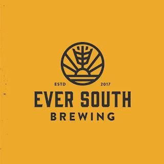 Desain logo pembuatan bir Ever South