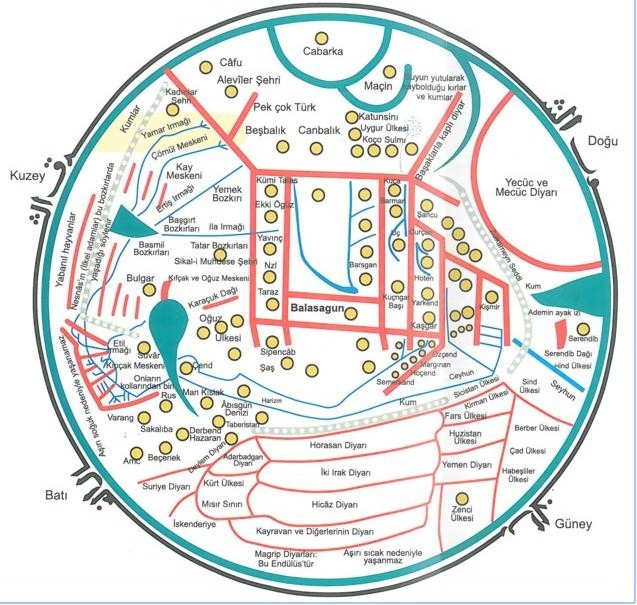 kasgarli mahmut harita