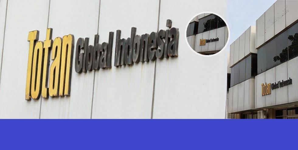 PT Totan Global Indonesia Membuka Lowongan Operator Produksi - Cikarang