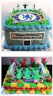 Kue Ulang Tahun Bola