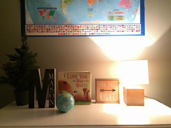 Why I Chose a Travel/Adventure theme for Mason's room