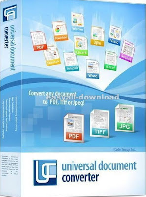 Universal Document Converter 6.7.1610.25120 [Full Key] แปลงไฟล์เอกสาร ไฟล์รูปภาพต่างๆ