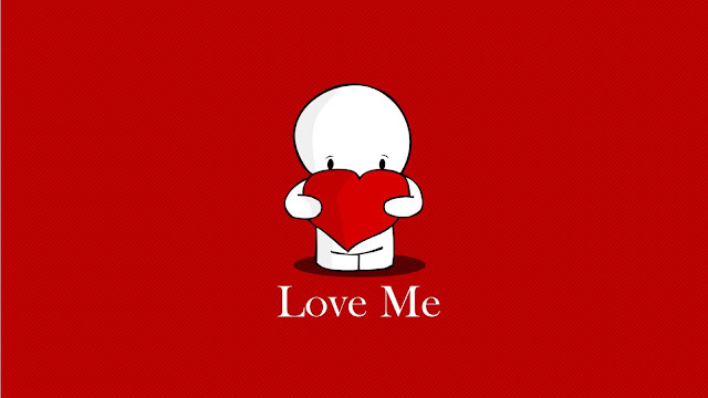 Free Cute Cartoon Love Couple Wallpaper, Download Free