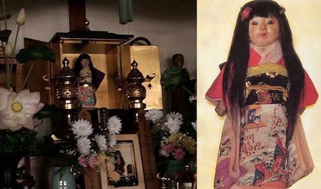 Okiku – The Creepy Doll That Allegedly Grows Human Hair
