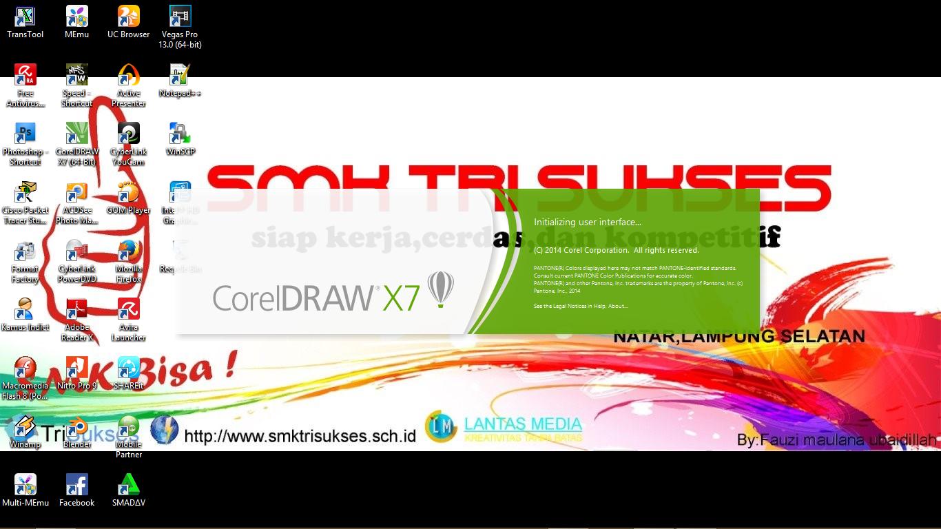 Cara Mengedit Gambar Di Corel Draw X7 - AR Production