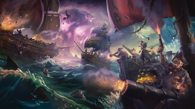 الكشف رسميا عن تاريخ إصدار لعبة Sea of Thieves