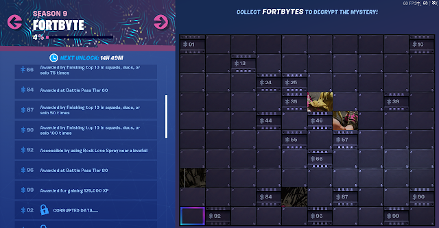 FORTBYTE Missions #55 Found within Haunted Hills