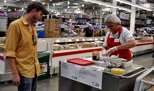 Old men fight over free samples at costco new haven register.