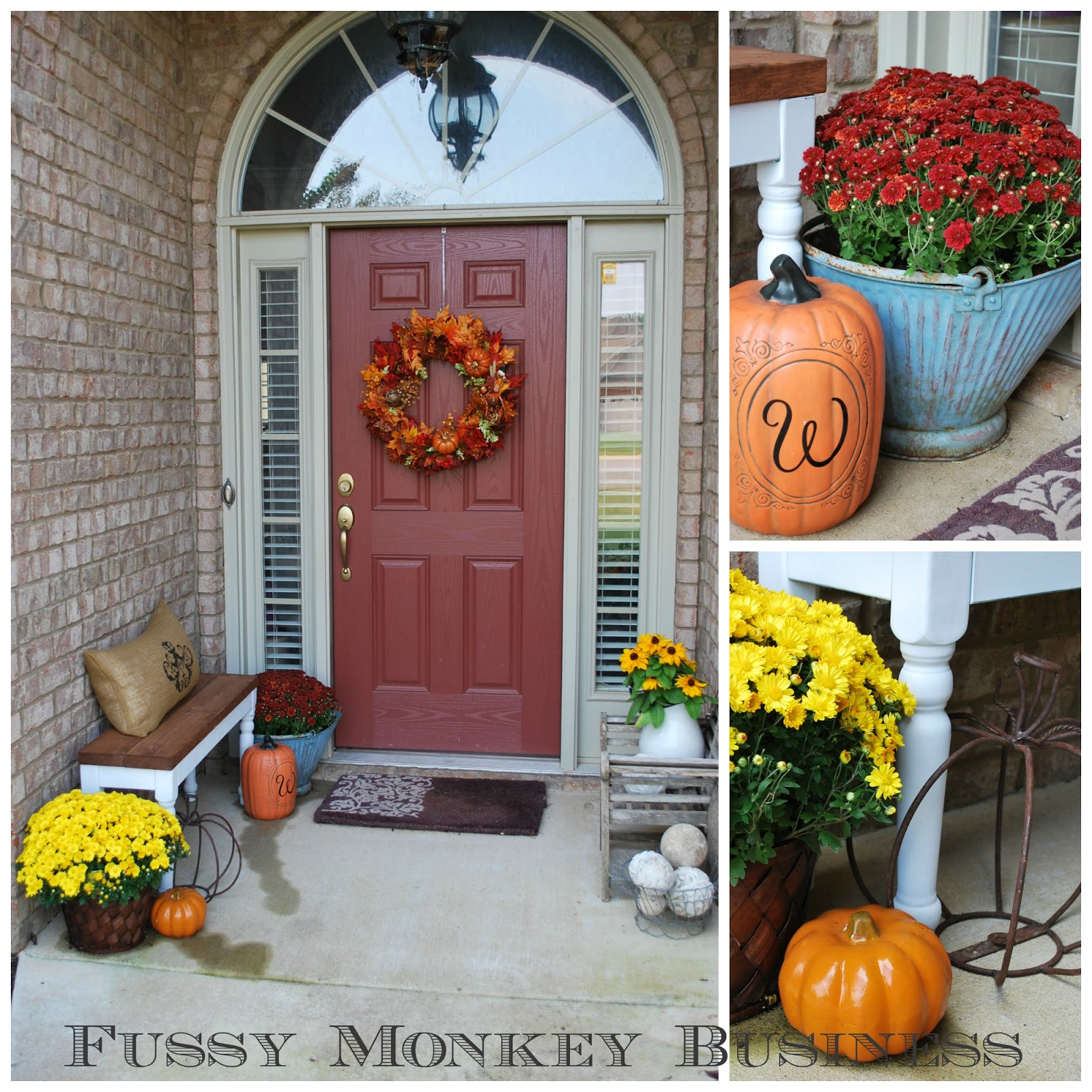 Fall Decorations For Small Front Porch
