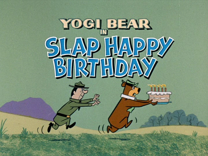 Yowp Yogi Bear Slap Happy Birthday