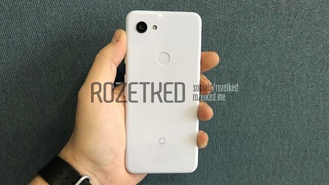 Photos may be leaked Google Pixel 3 Lite
