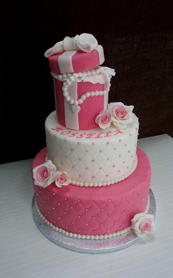Ben noto Zuccherosamente: Torta romatica per un diciottesimo compleanno CE82
