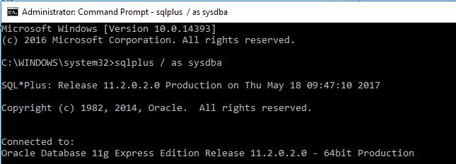bagaimana Cara Membuat Koneksi Database Baru di Oracle Via CMD