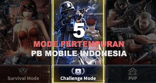 5 Mode Pertempuran Point Blank Mobile Indonesia, Yang Mana Sudah Kamu Coba?