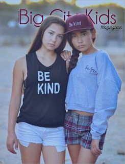 Cailyn Harrington Kayla Cortes Big City Kids feature with photographs from Valluv Creations