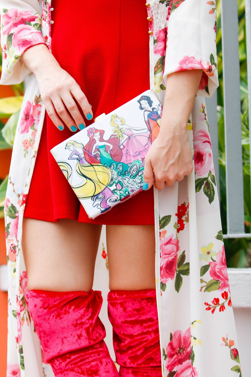 Disney Princesses Clutch Outfit