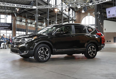 2017 Honda official reveals new CR-V, 184-pull 4-barrel motor