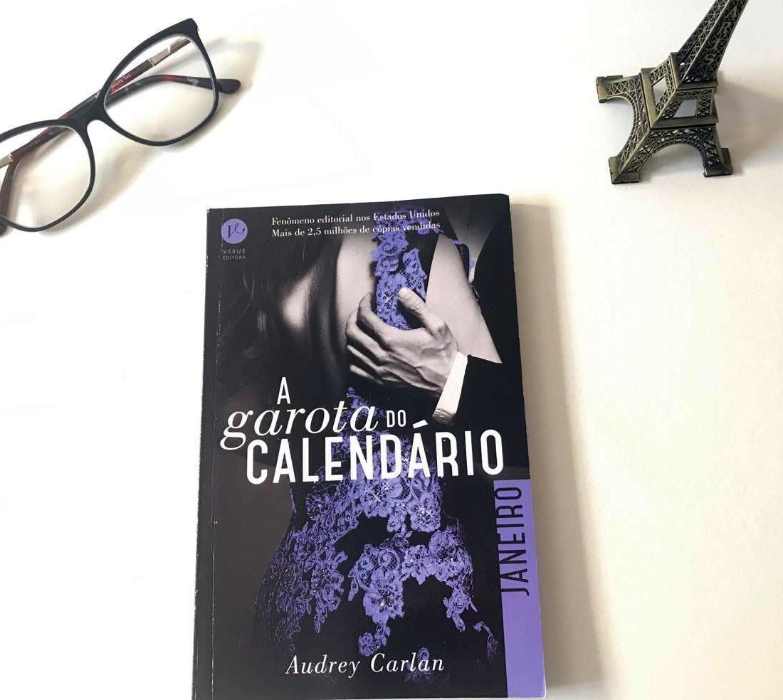 A garota do calendário Janeiro de Audrey Carlan