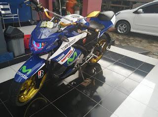 Modifikasi Motor Yamaha Vixion 12