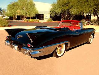 1957 Cadillac Eldorado Biarritz Convertible Rear Right