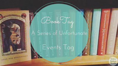 a series of unfortunate events book tag