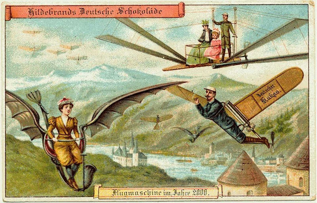 Personal flying machines.