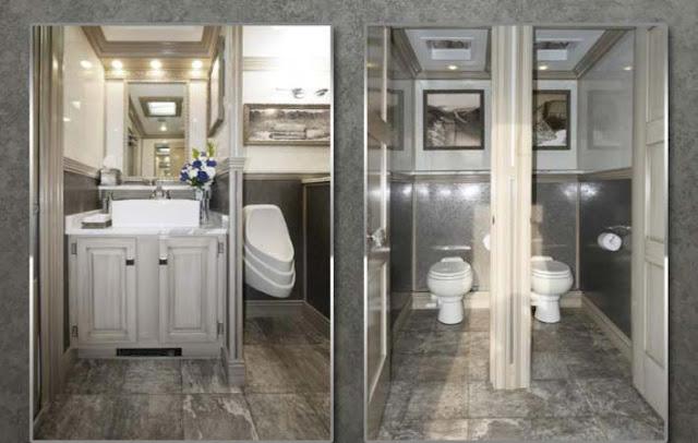 The Driftwood Restroom Interior Design