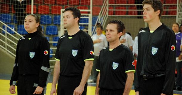 1ebf4be24aec1 Foz do Iguaçu recebe entre os dias 01º e 03 o XIV Congresso Nacional de  Arbitragem de Futsal. Além da atualização de regras da modalidade e  procedimentos ...