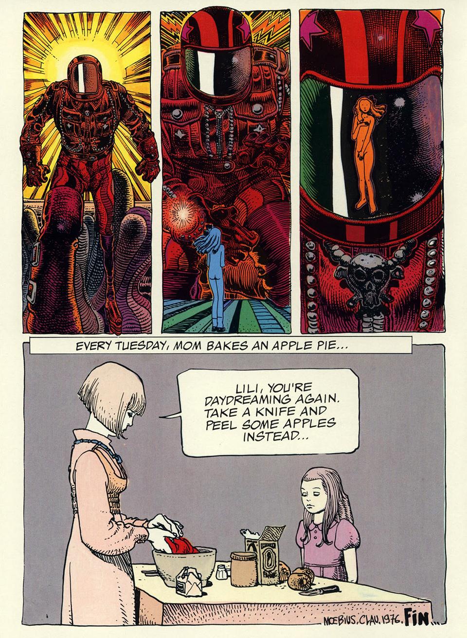 moebius comic pdf español