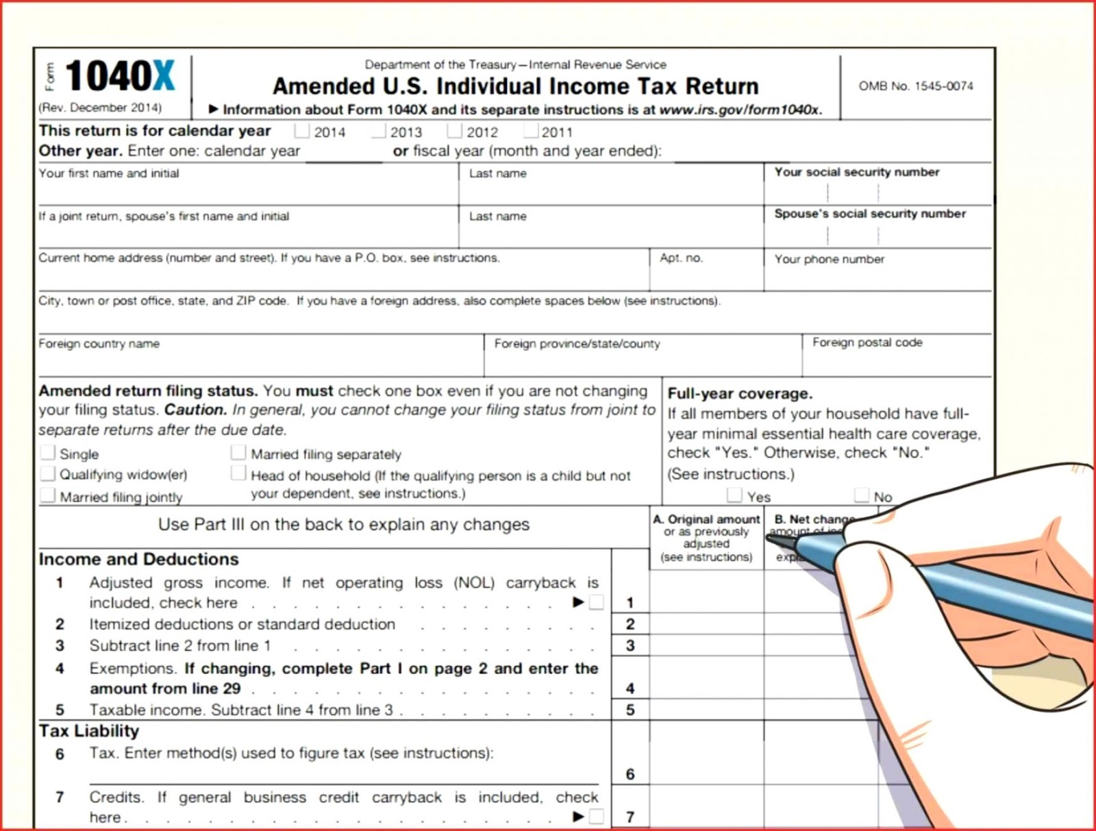Tax Payments Irs Worksheet