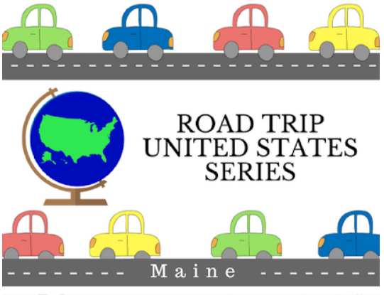 Follow along with us as we learn about the 50 states on the Road Trip USA Series.