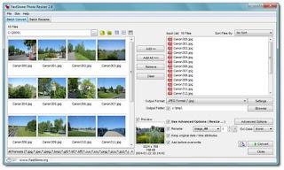 تحميل برنامج FastStone Photo Resizer Portable لتتحكم فى حجم الصور