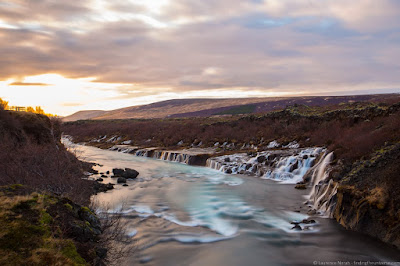 Hraunfossar Waterfall Iceland_by_Laurence Norah-3